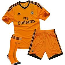 New authentic Real Madrid Away Uefa Junior kit / shirt 13-14  all sizes