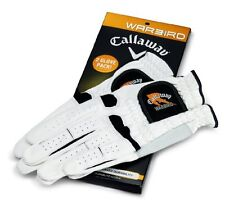 *BRAND NEW* 2-pack Callaway Warbird golf gloves - Left handed for Right handers