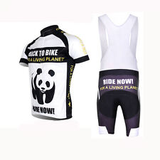 Bike Bicycle Cycling Sportwear Short Sleeve Clothing Jersey + Bib Shorts M-3XL