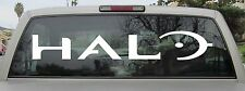 Halo Sticker Full Logo Sticker Window Wall Decal iPhone - Choose Size and Color