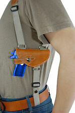 NEW Barsony Saddle Tan Leather Shoulder Holster Bersa Star Small 380 Ultra-Comp