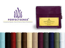 New 1500 Thread Count Luxury Soft Deep Pocket 4pc Bed Sheet Sets by PerfectSense