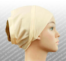 Soft Hat cap Cotton Hijab Cap Tube Underscarf Ninja hat Hijab cap under shawl