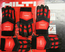 HILTI HEAVY DUTY WORK GLOVES SIZE M, L, XL - BRAND NEW, PADDED, FAST SHIPPING