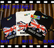 FREE POSTAGE!!!SIZE S/M/L/ XL/XXL ,BRAND NEW UK GENUINE MEN LONSDALE T SHIRT