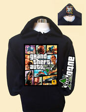 GRANT THEFT AUTO V (FIVE) HOODIE
