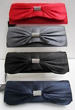 LADIES BULAGGI EVENING BAG, 32342, BLACK, RED,BURGUNDY & NAVY