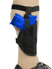 NEW Barsony Concealment Ankle Holster for Beretta Nano with LASER, Crimson Trace