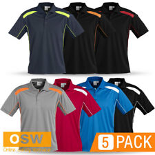 5 X UNISEX NEW GENERATION BREATHABLE MESH WORK OFFICE GYM TRADIE UNIFORMS SHIRTS