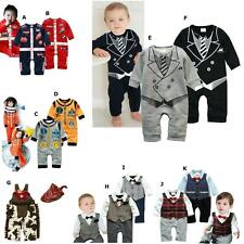 Cool Baby Boy Clothes (Christmas Gift : Smart Formal Tie Suit, Dress Up Costume)
