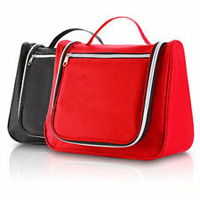 Ladies Mens Travel Toilet Bag Wash Bag Hanging Toiletries Makeup Bag Zipper