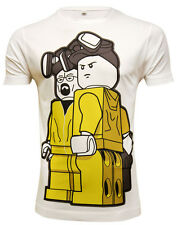*UK FIT*  Retro Lego Breaking Bad TV Poster T-Shirt