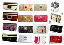 Ladies LYDC Designer Purse Women Evening Clutch Bag Leather NEW *GIFT PACK*