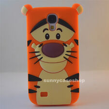 HOT 3D cute cartoon Tigger Silicone soft Case cover for Samsung Galaxy S4 S5 S6