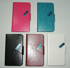 1 Nice Wallet PU Leather Case Skin Cover Pouch For Alcatel One Touch Pixi