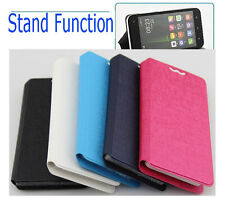 Smart Phone Leather Case Cover for Alcatel One Touch Scribe Easy 8000D 8000E