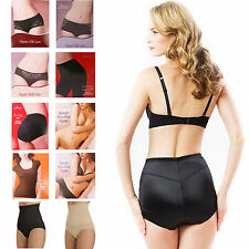 SEAMLESS HIGH WAIST FIRM TUMMY BUM CONTROL SLIMMING BRIEFS HIPSTERS SIZE 8-26