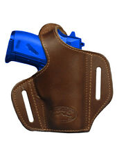 NEW Barsony Brown Leather Pancake Gun Holster Walther, SIG Mini-Pocket 22 25 380