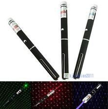 1/3 Color New 2 in 1 Star Cap 405nm 1mW Laser Pointer Pen for Party$Job KJ