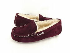 Women's Shoes UGG Australia Ansley Moccasins 3312 Mahogany 5 6 7 8 9 10 *New*