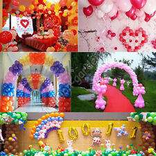 "Wholesale 100X Birthday Wedding Party Decor Latex Balloons 10"" 9 Color U Pick"