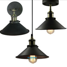 Retro Industrial Rustic Metal Wall Lamp/Ceiling Fixture/Pendant Light Cafe Diner