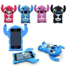 New Stitch Cartoon 3D Soft Silicone Case Cover Skin For Samsung Galaxy Ace S5830