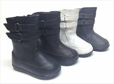 BRAND NEW INFANT/TODDLER GIRL'S DOUBLE STRAP BOOTS SIZE 4 - 8