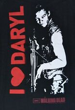 "AMC's The Walking Dead ""I LOVE Daryl"" Juniors T-Shirt Tee Daryl Dixon"