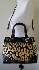 $178 NWT JUICY COUTURE Brentwood Leopard Mini Daydreamer Crossbody Handbag Purse