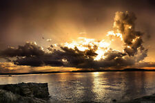 """""""Sunset"""" Canvas or Print Wall Art"""