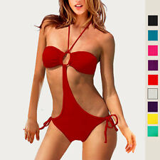 One Piece Ladies Cut-out Monokini Swimwear Women Bikini Swimsuit sw1007