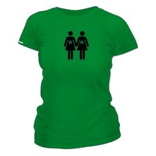 Gay Is OK - LGBT Themed - Wear With Pride - Ladies Fitted T-shirt