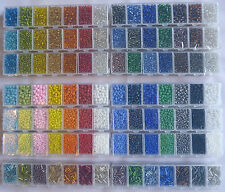 Seed Bead Mix & Storage Box – 14 Seed Bead Mix Options available