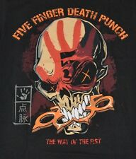"FFDP Five Finger Death Punch ""THE WAY"" Adult T-Shirt  Brand New with Tags"