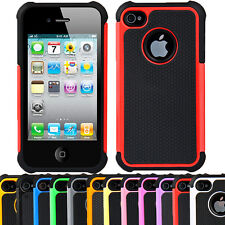 STYLISH DUAL SHOCK PROOF SERIES CASE COVER FOR IPHONE 4/4S