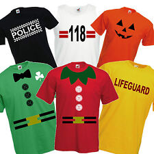 Fancy Dress Costume T Shirt Funny Christmas Elf Irish Leprechaun 118 Lifeguard