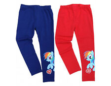 MY LITTLE PONY LEGGINS RAINBOW DASH TROUSERS MY LITTLE PONY AGE 3-10 YRS NEW 299