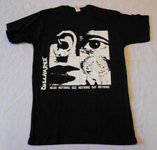 Discharge Hear nothing punk  T-shirt