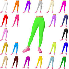 New Ladies Womens Full Length Leggings Womens Stretchy Trousers Size 8-26 *HQ*