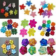 Acrylic Flower Beads- ** BUY 1 GET 1 FREE **  WHEN THEYRE GONE THEYRE GONE