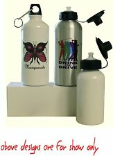 WATER BOTTLE PERSONALISED FREE WITH YOUR OWN DESIGN/PICTURES