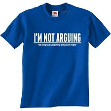 I'm Not Arguing funny t-shirts mens funny present gift for men