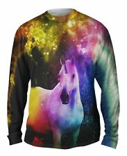 Yizzam- Galaxy Unicorn - New Mens Long Sleeve Tee Shirt XS S M L XL 2XL 3XL 4XL