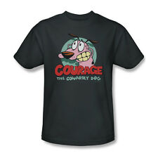 Courage The Cowardly Dog Cartoon Network TV Youth Ladies Jr Men T-shirt L/S Top