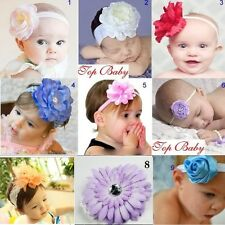 NEW Peony flower/baby/girl/headband/photo prop/christening *Newborn - 3 years*