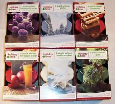 6-Pack Votive Candles, Pick From 6 Different Scents - Brand New