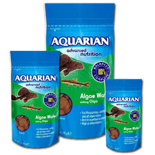 AL1 Aquarian Algae Wafers 28 85 255 g Aquarium Catfish Plec Tropical Fish Food