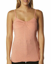 All About Eve Womens National Bustier Pink Peach Marle Singlet Sleeveless Top