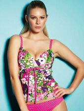 NEW Freya Eden Soft Plunge Tankini Top 3194 Paradise Sizes 32-36 D-F Cups